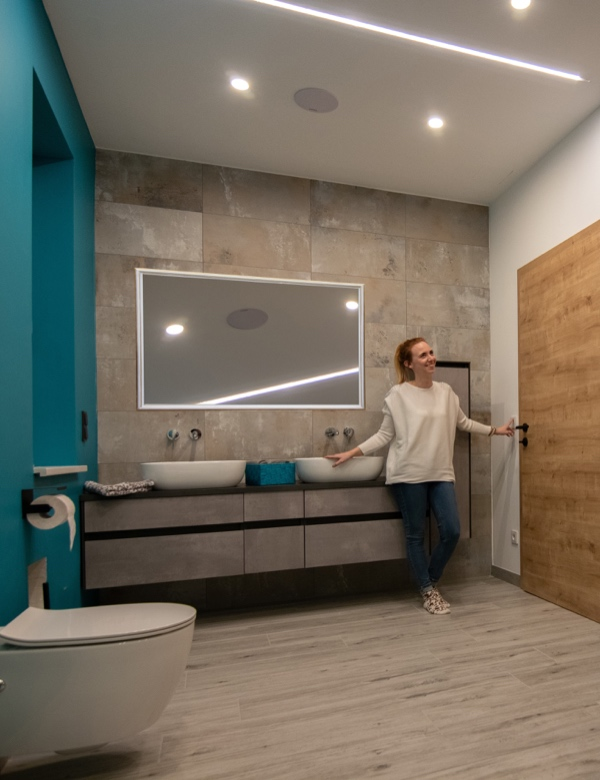 Smart Home Systems Loxone Smart Home Badezimmer