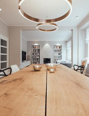 smotions Smart Home Projekt Esstisch